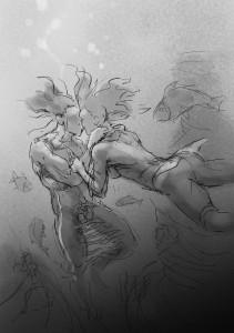 Skizze Wassermann 02